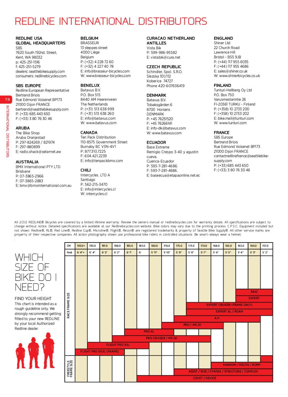 2012 Redline Bmx Race Catalog By Redline Bicycles Issuu