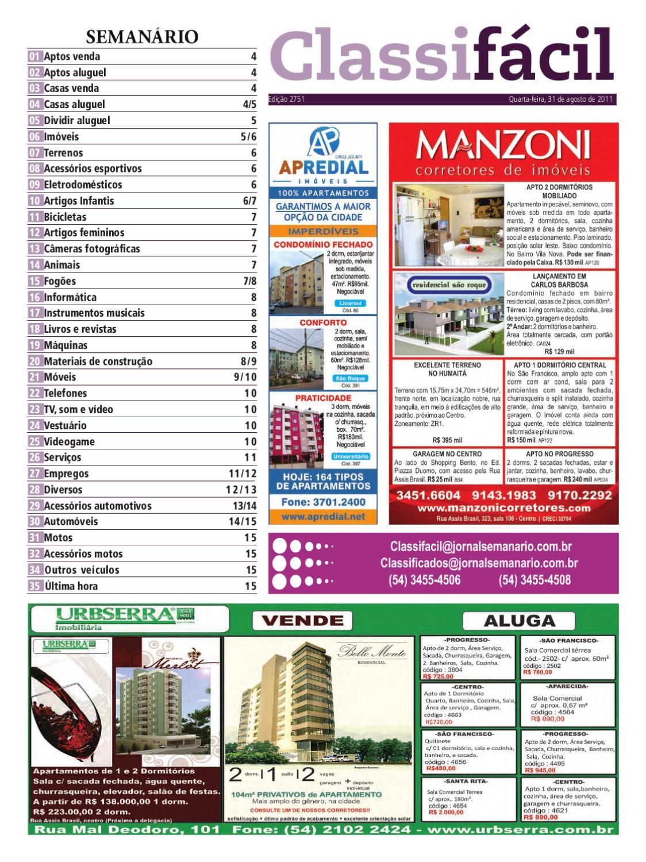 27082011 classificados jornal semanrio by jornal semanario issuu fandeluxe Gallery