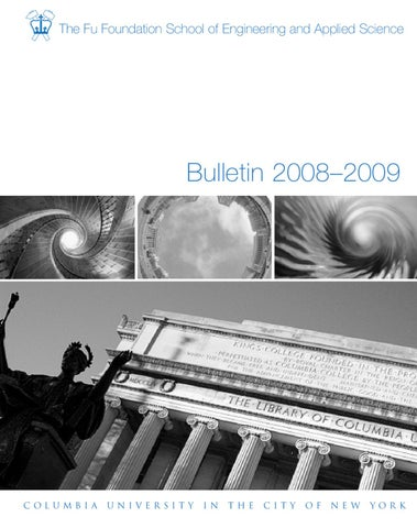 2008 09 bulletin by columbia engineering school issuu page 1 fandeluxe Images