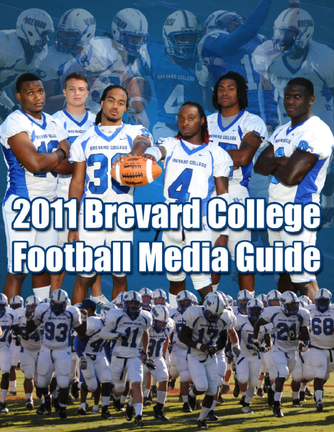 2011 bc football media guide by brevard college tornados issuu fandeluxe Image collections