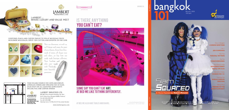 Bangkok 101 February 2008 by Talisman Media issuu