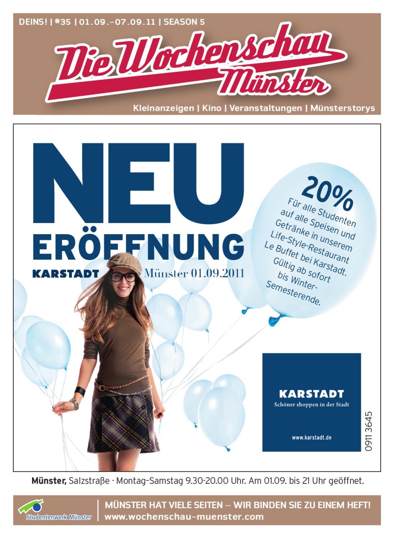 Die Wochenschau Münster by Wochenschau Münster - issuu