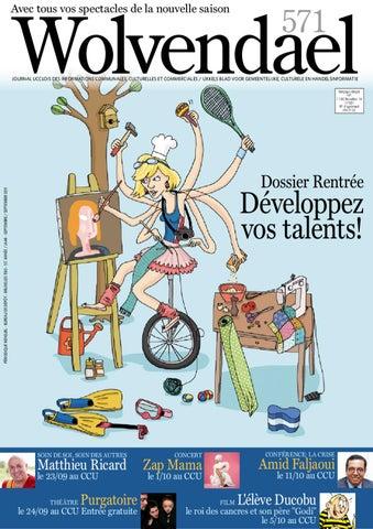 Wolvendael Magazine By Centre Culturel Duccle Issuu