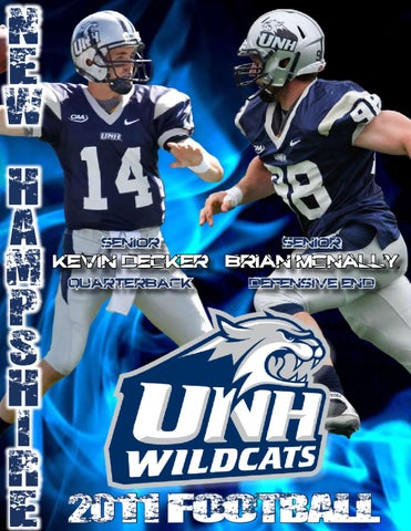 2011 Unh Football Media Guide By University Of New Hampshire
