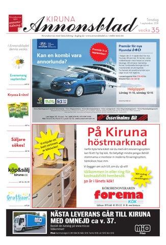 best cheap 9d774 86b9c Kiruna Annonsblad 2011 v.35 by Svenska Civildatalogerna AB - issuu