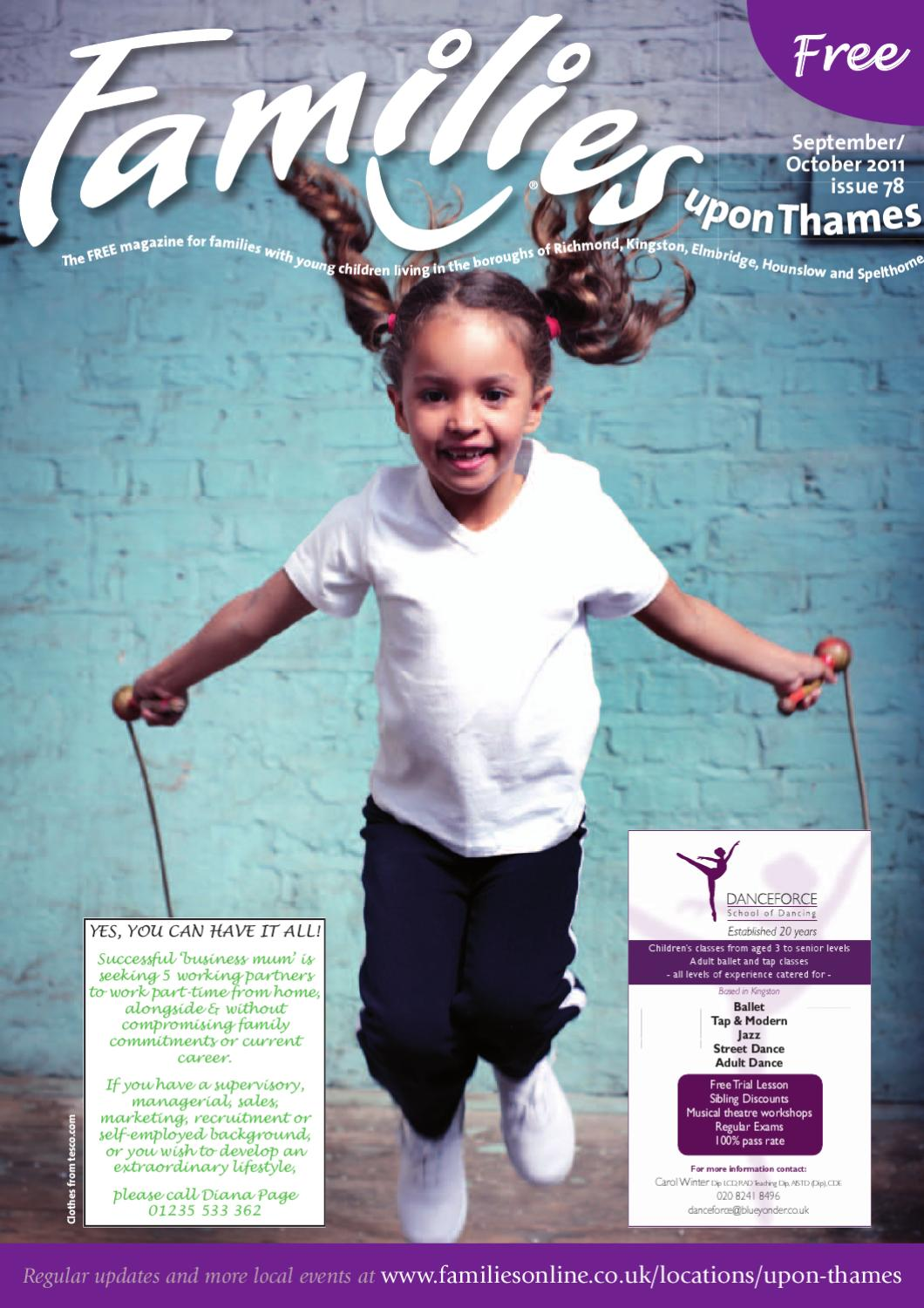 2e4a2fecd Families upon Thames issue 78 Sept Oct 2011 by Families Magazine - issuu