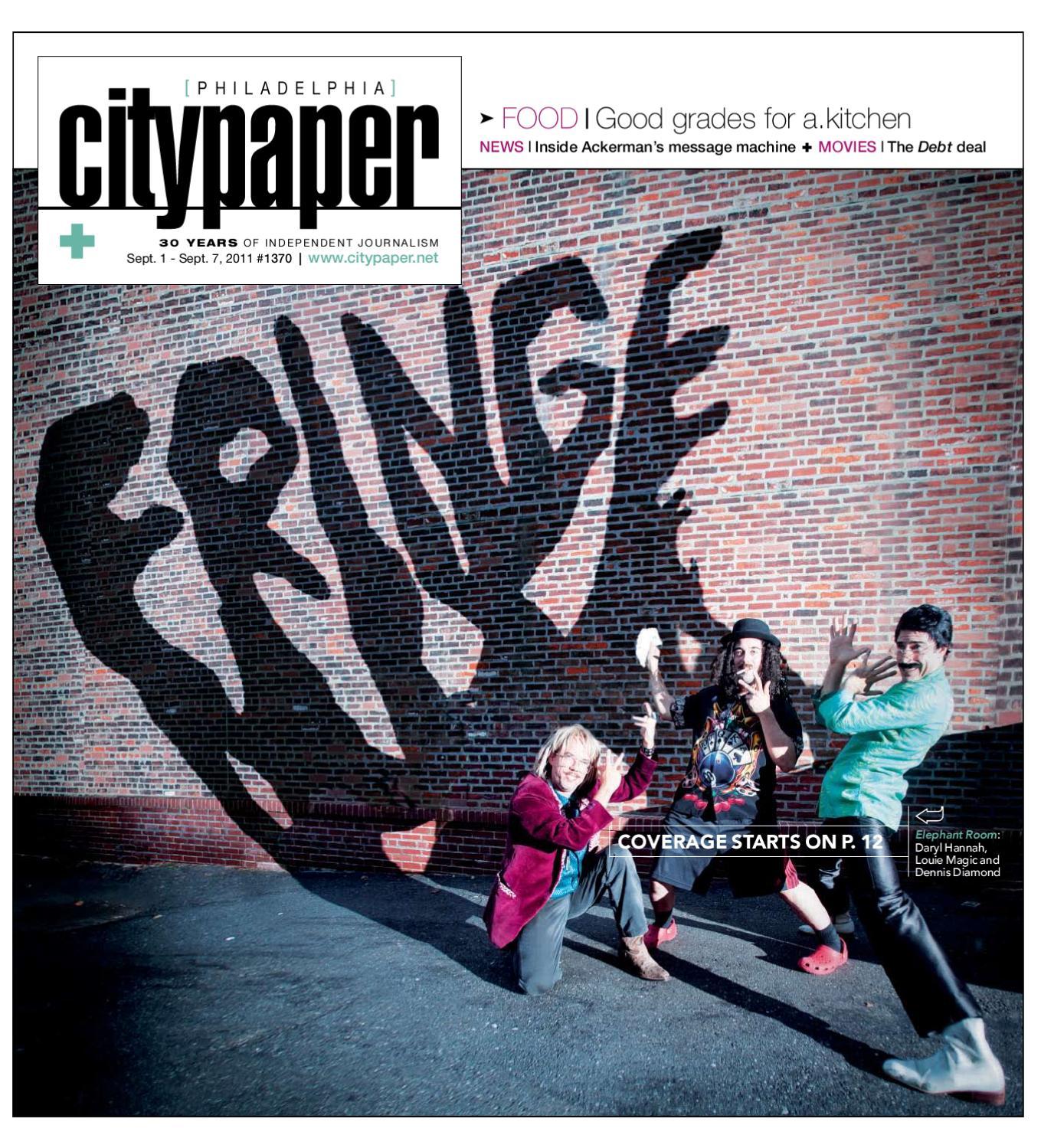 Philadelphia City Paper, September 1st, 2011 by Philadelphia