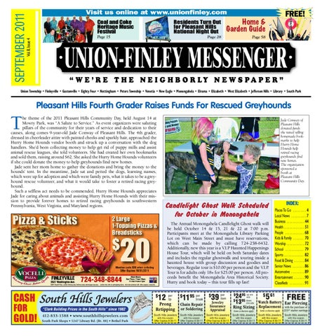 c79f2f22a Union Finley Messenger September 2011 by South Hills Mon Valley ...