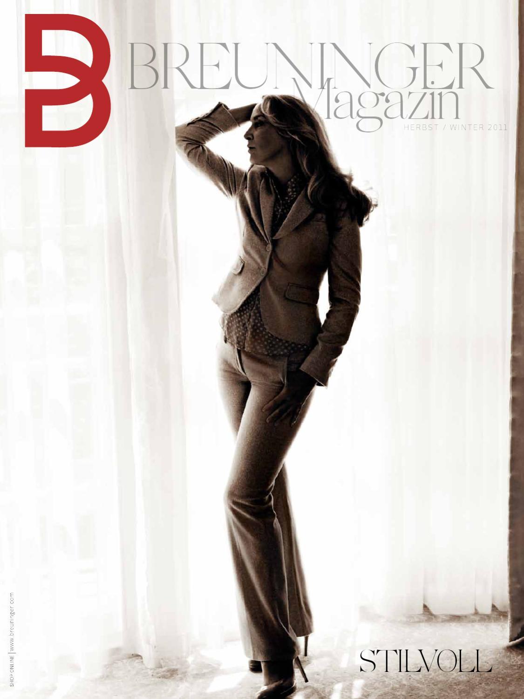 professionelle Website berühmte Designermarke zu Füßen bei Breuninger Herbstkollektion by MOSAIQ MEDIA GmbH - issuu
