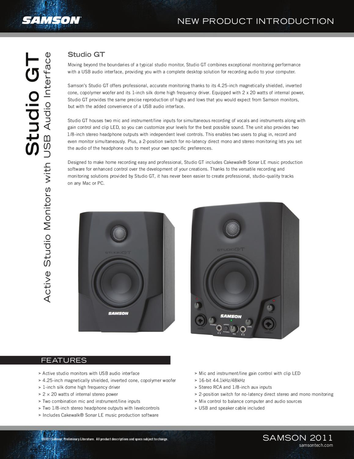 Studiogt By Mogar Music Spa Issuu Stereo Line Driver