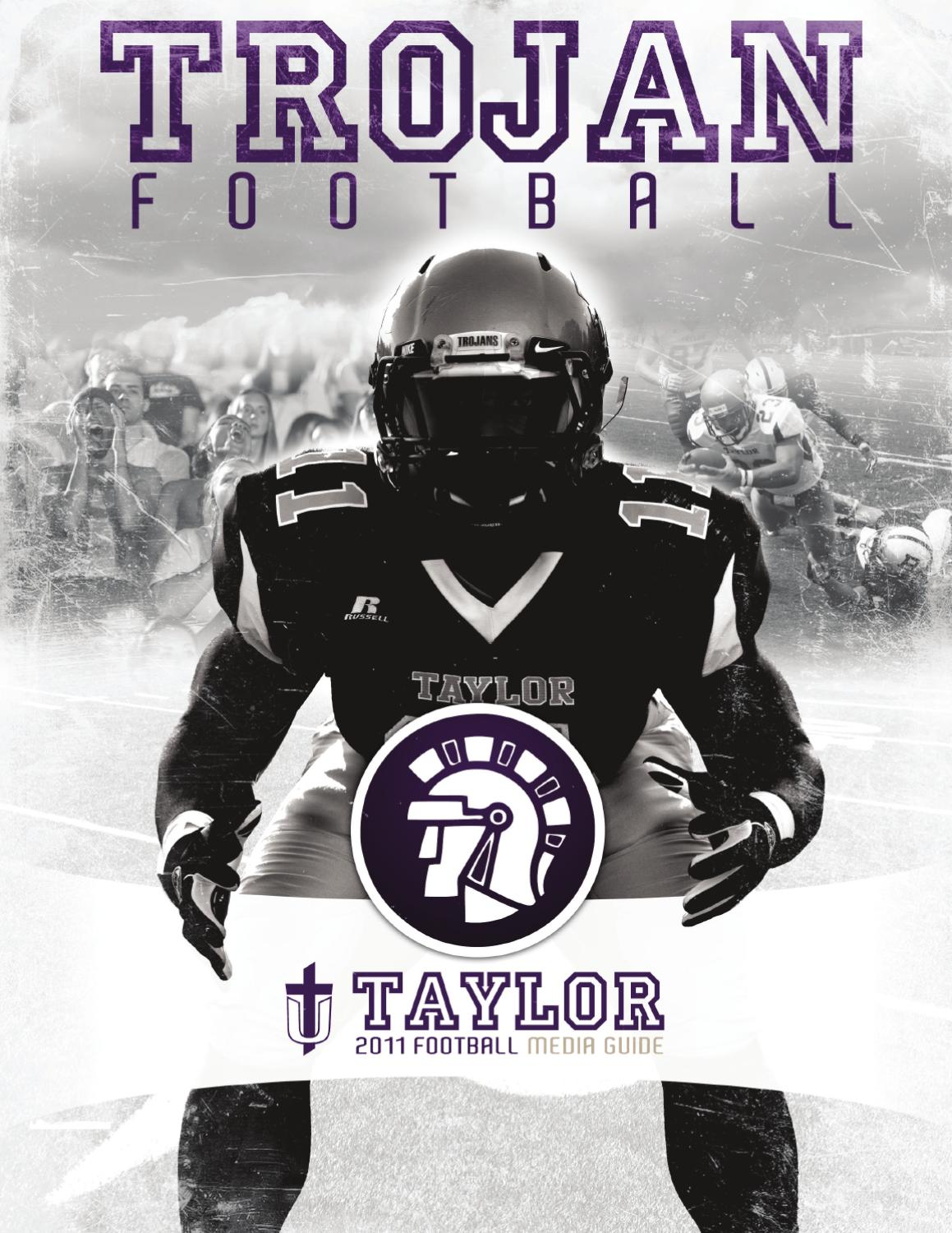 2011 taylor university football media guide by taylor