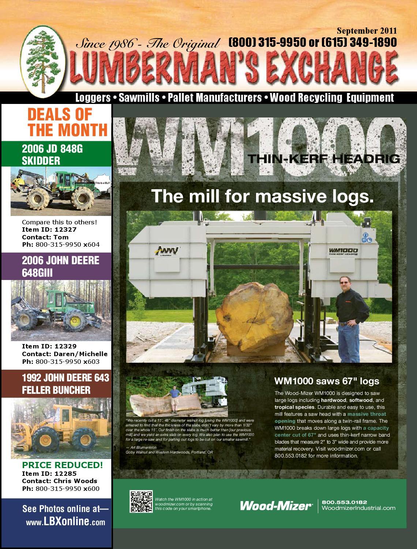 LBX Online Magazine by Lumbermens Magazine | Quality Used ...