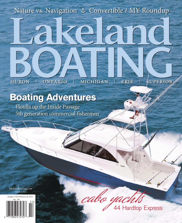 Lakeland Boating February 2011 by Lakeland Boating Magazine