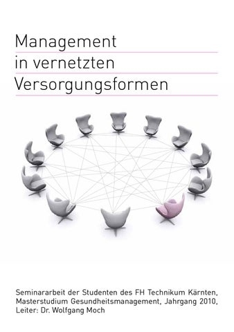 Management in vernetzten Versorgungsformen by Sigrid Raditschnig - issuu