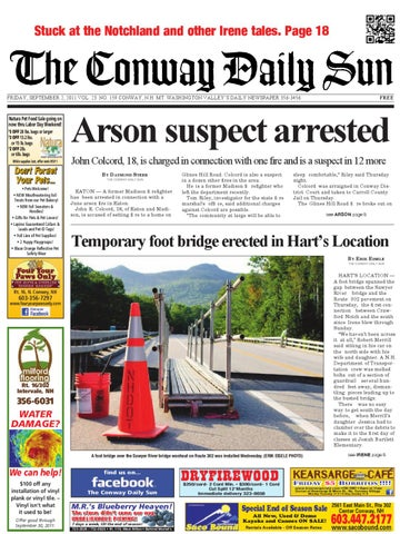 The Conway Daily Sun Friday September 2 2011 By Daily Sun Issuu