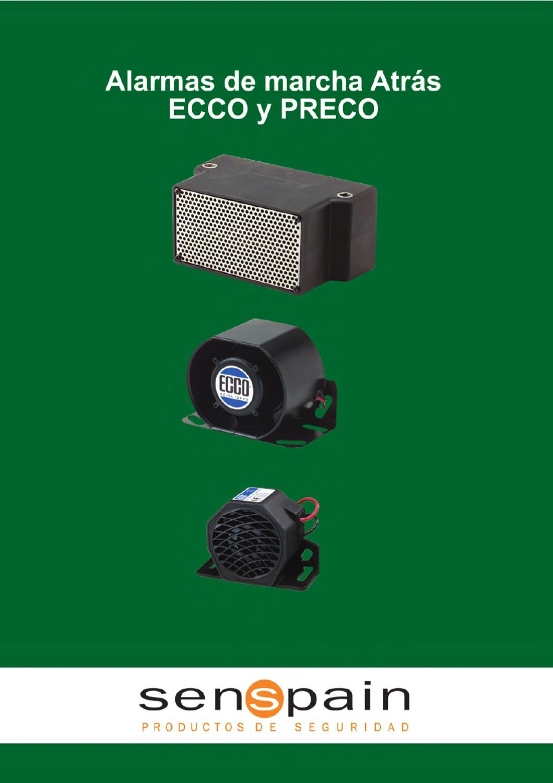 810 ECCO MODEL 810 BACK-UP ALARM 12-36VDC 97DB A