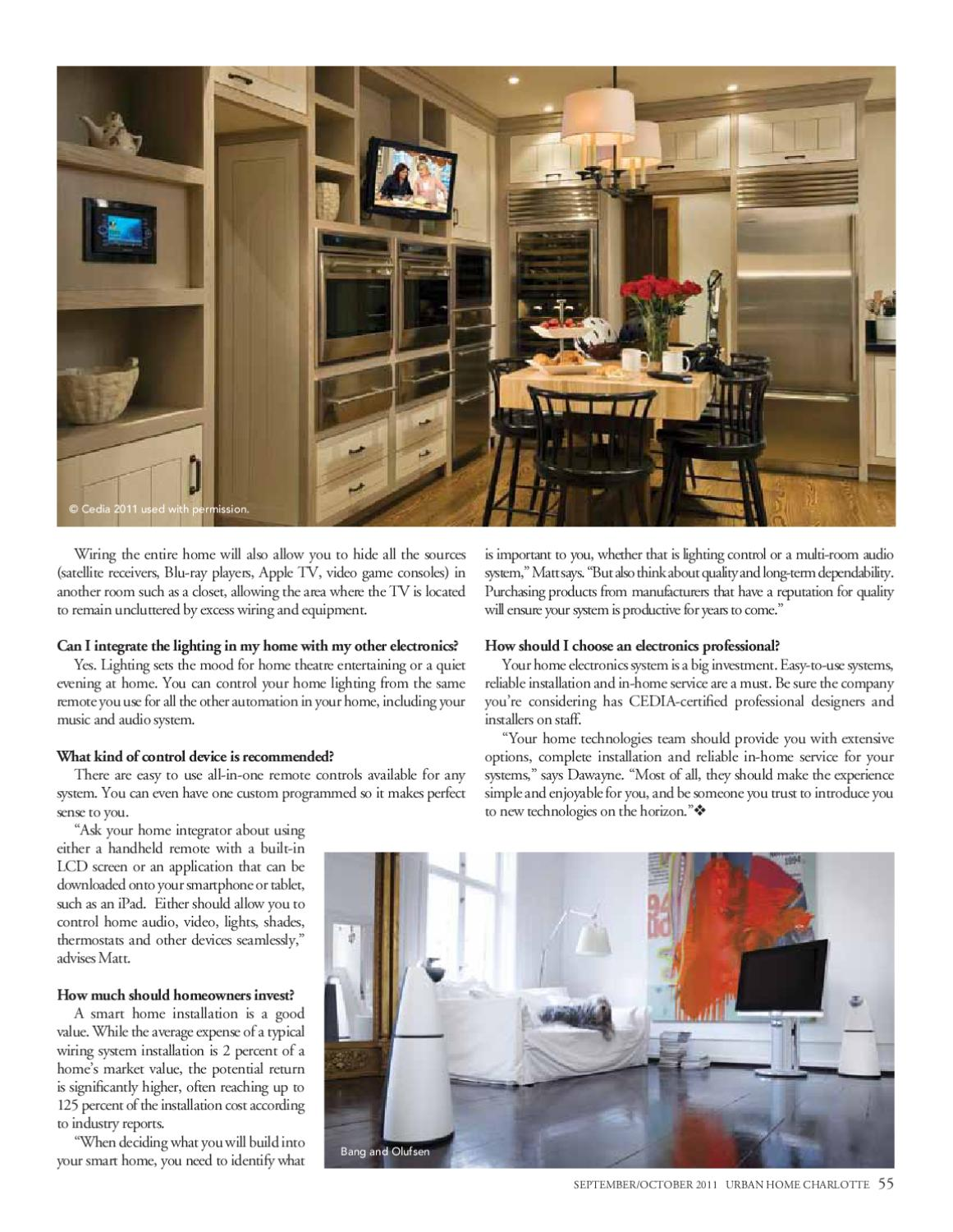 Urban Home Sept/Oct 2011 Issue by Home Design & Decor