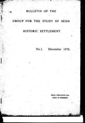 Bulletin 1970 by David Fleming - issuu