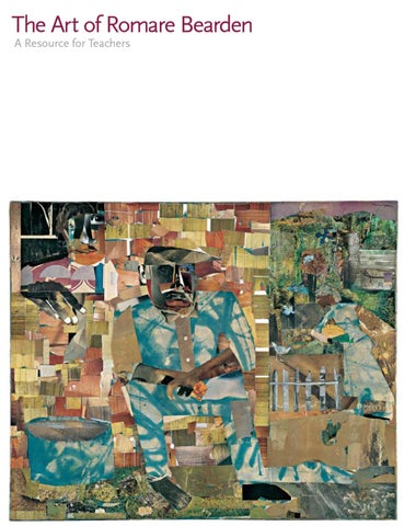 The Art Of Romare Bearden A Resource For Teachers By George And - Romare-bearden-coloring-pages