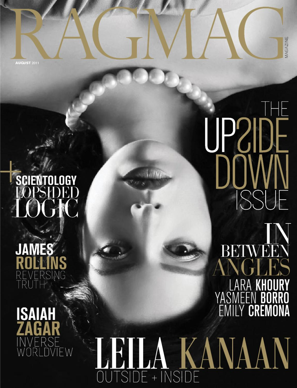 RAGMAG Upside Down Issue | August 2011 | Issue#15