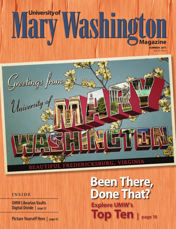 Umw Magazine Summer 2011 By University Of Mary Washington Issuu