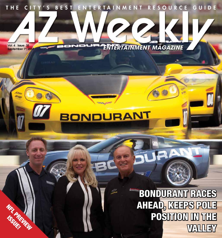 Bondurant Driving School By Az Weekly Issuu