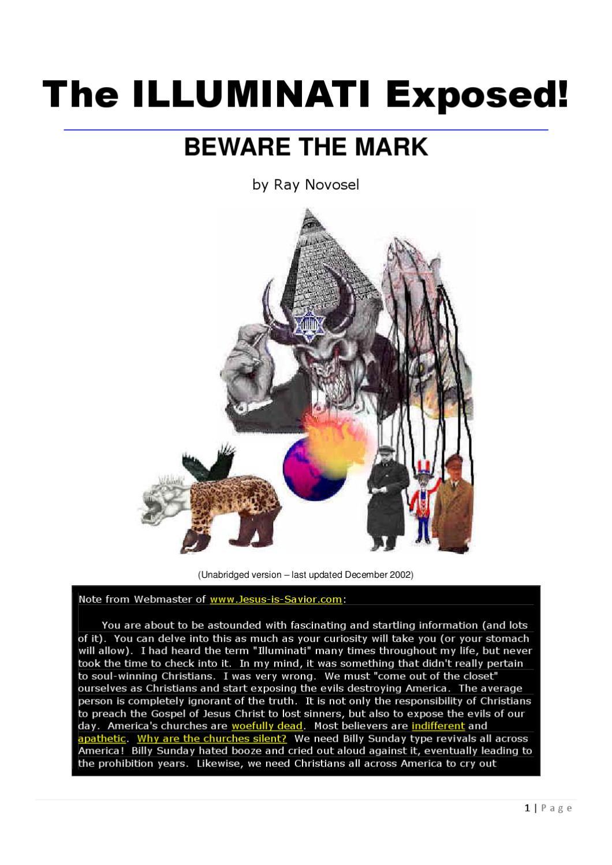 The ILLUMINATI Exposed! - Beware the Mark by Liquid Nirvana