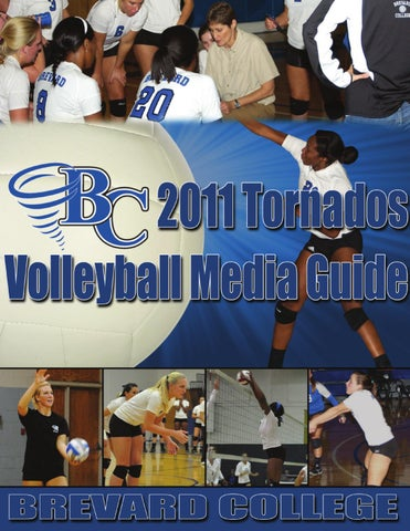 2011 bc volleyball media guide by brevard college tornados issuu page 1 fandeluxe Image collections