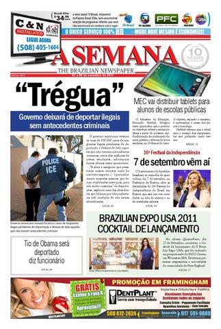 ace58d7b45 A SEMANA - The Brazilian Newspaper by JORNAL A SEMANA - issuu