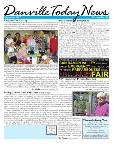 Danville Today News, September 2011 by The Editors, Inc - issuu