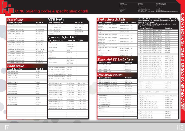 Catálogo de KCNC de 2012 by TodoMountainBike - issuu