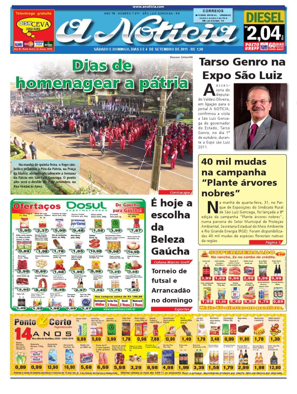 a718ea198 Edição dos dias 3 e 4 de setembro de 2011 by Jornal A Notícia - issuu