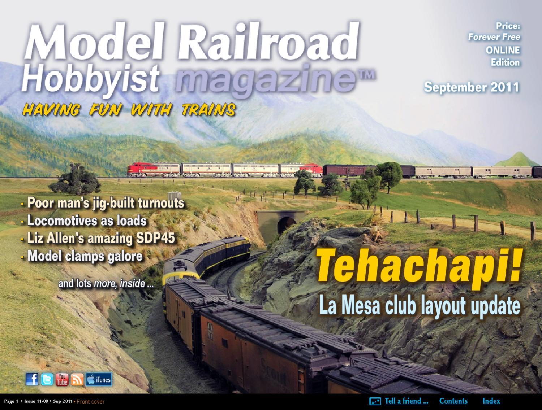 Mrh Sep 2011 Issue 19 By Model Railroad Hobbyist Magazine Issuu Trains Atlas Wiring Train Turntable