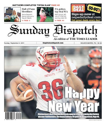 The Pittston Dispatch 09-04-2011 by The Wilkes-Barre Publishing ... 6163aad84