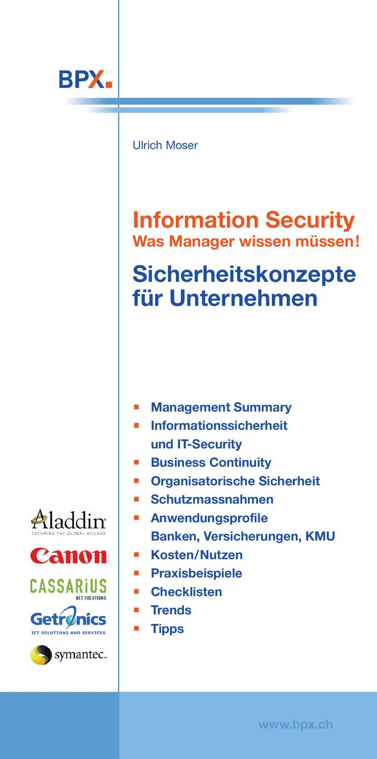 Information Security by BPX - issuu