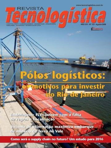 562edeb2682ad Revista Tecnologística - Ed. 153 Agosto 2008