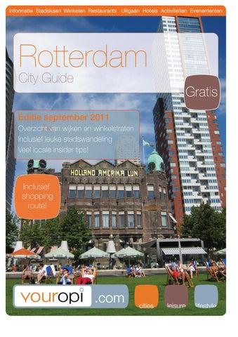 3d0e8dabf41 City guide Rotterdam by Youropi.com - issuu