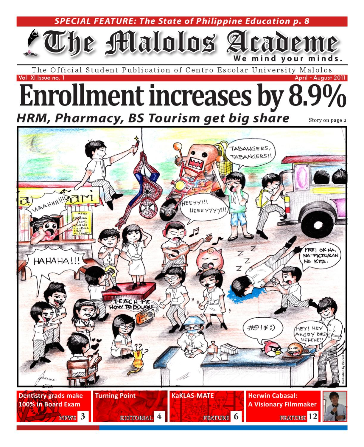 The Malolos Academe 1st Issue by The Malolos Academe - issuu