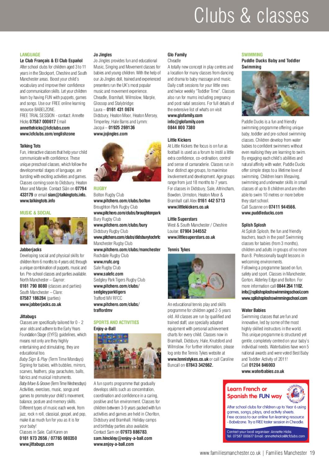 Families Manchester Sept-Oct 11 by Families Magazine - issuu