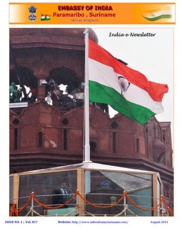 India e-Newsletter by ambndia - issuu