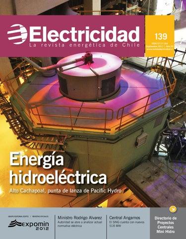 Energ 237 A Hidroel 233 Ctrica By Editec Revista Electricidad Issuu