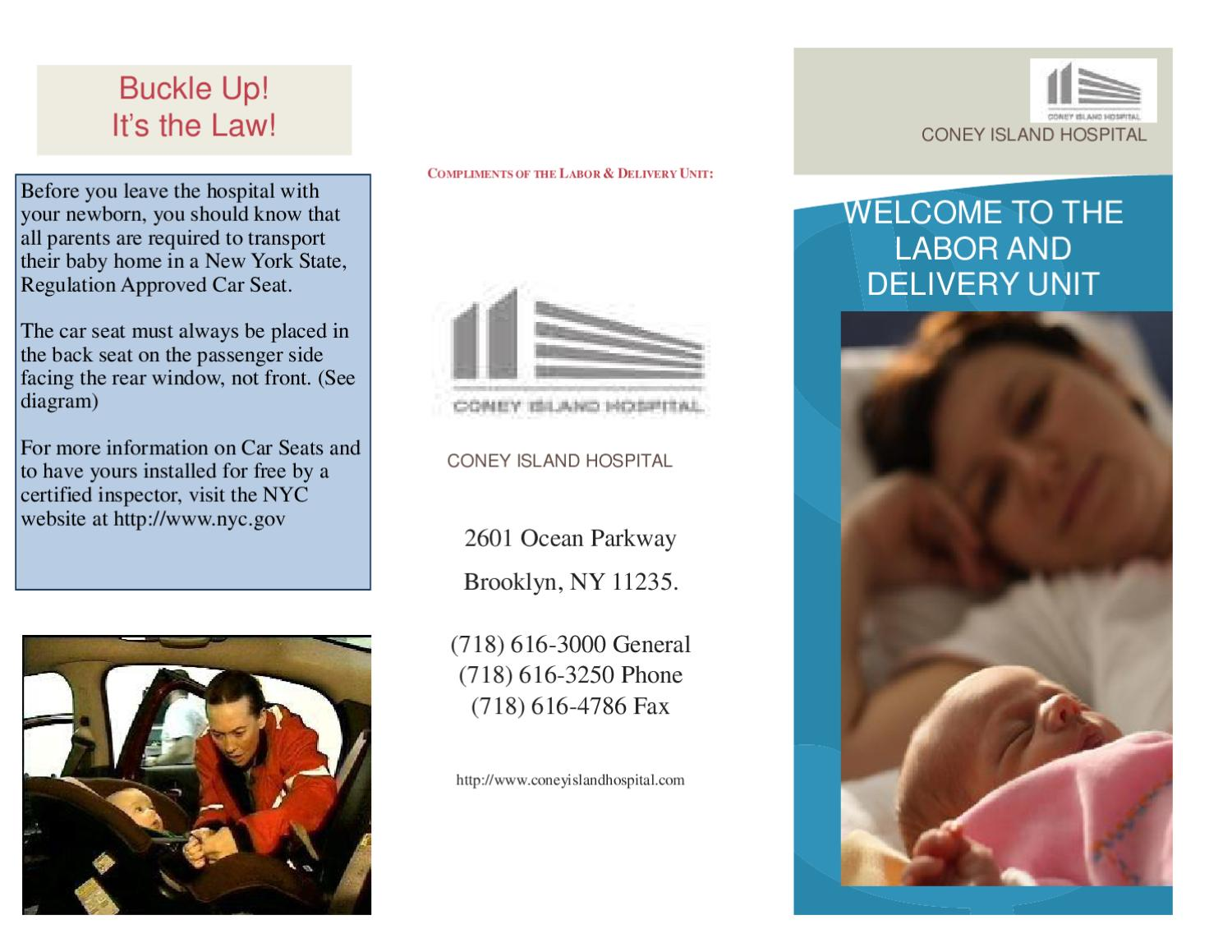 LABOR AND DELIVERY BROCHURE2 by Michelle Wilkes - issuu
