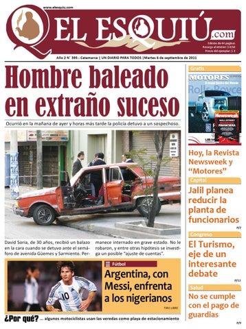 El Esquiú 06 de septiembre de 2011 by Editorial El Esquiú - issuu fb299fbb5c5