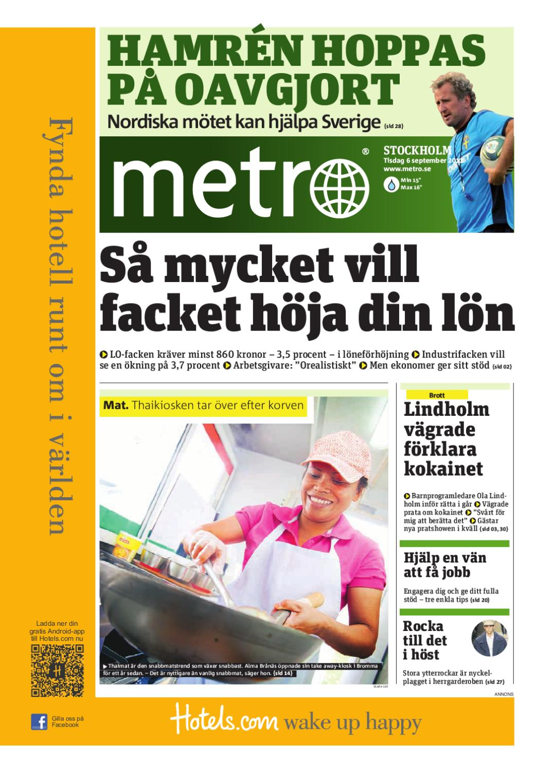20110906 se stockholm by Metro Sweden - issuu d15d7266710f9