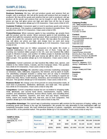 Venture Capital OnePageFactSheetSample By Robert Lasater  Issuu