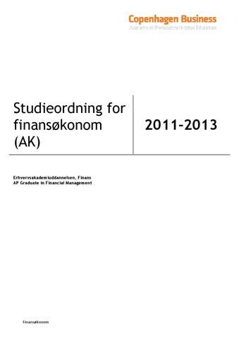 finansøkonom engelsk titel