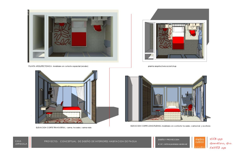 Habitacion decorada con molduras de poliuretano el cesar by el cesar dise o en acabados y - Molduras de poliuretano ...
