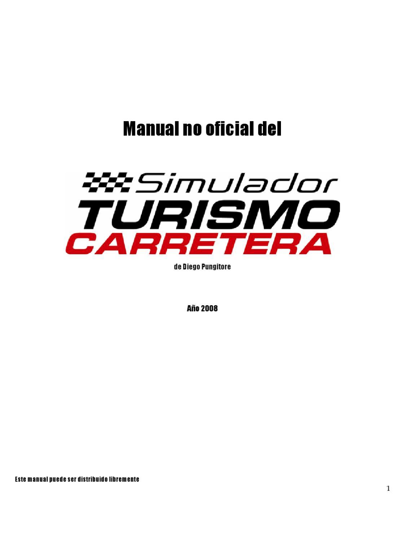 Manual no Oficial del Turismo Carretera by Leonardo Santinon - issuu