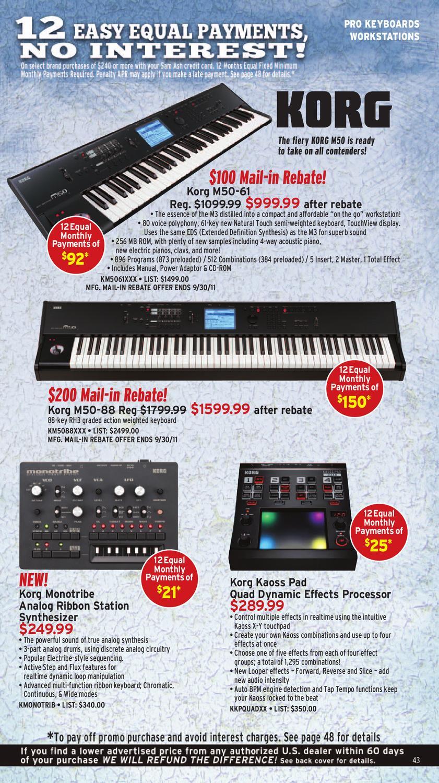 Sam Ash Gear Guide by Sam Ash Music Corp  - issuu