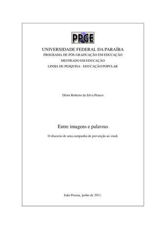 bc6209a6b0 UNIVERSIDADE FEDERAL DA PARAÍBA PROGRAMA DE PÓS-GRADUAÇÃO EM EDUCAÇÃO  MESTRADO EM EDUCAÇÃO LINHA DE PESQUISA - EDUCAÇÃO POPULAR